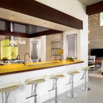 Кухонная столешница из искусственного камня: фото-обзор идеального дизайна!
