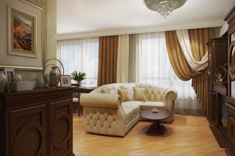 коричневая гостинная 1 (34)