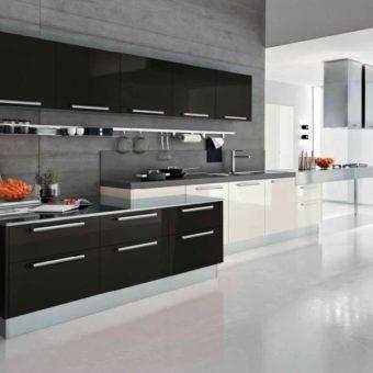 Кухня серого цвета — 65 фото монохромного дизайна в кухне