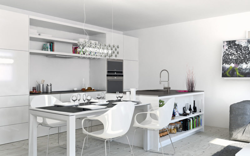 кухня студия как ее правильно оформить 77 фото примеров дизайна