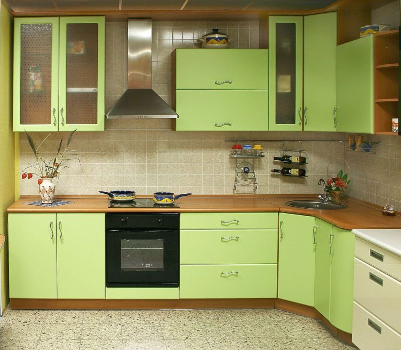 Дизайн в зеленых тонах фото 649