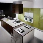 кухня в фисташковом цвете 1 (11)