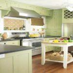 кухня в фисташковом цвете 1 (13)
