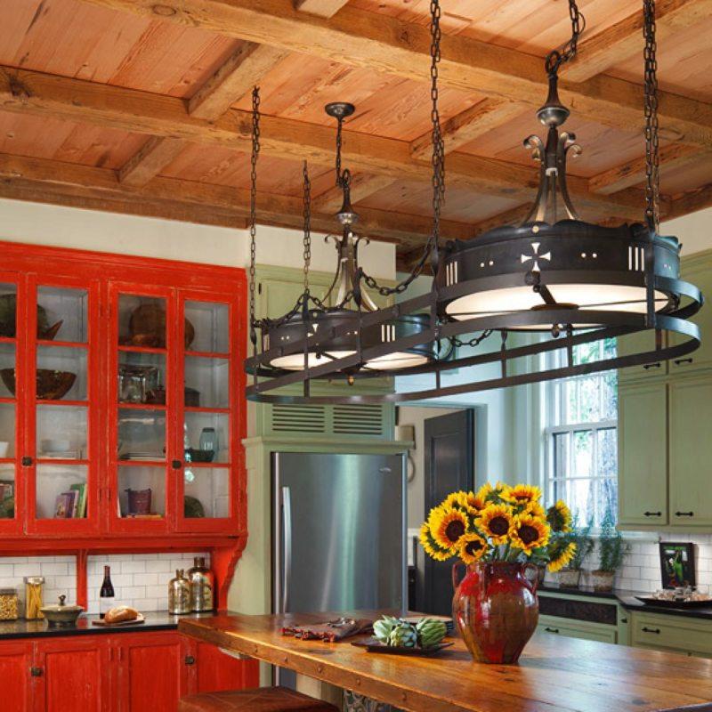 кухня в фисташковом цвете 1 (19)