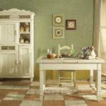 кухня в фисташковом цвете 1 (2)