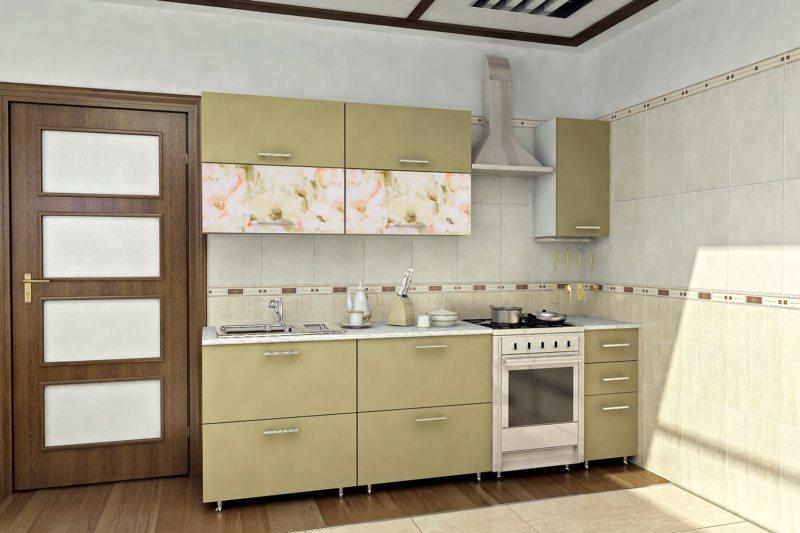кухня в фисташковом цвете 1 (25)
