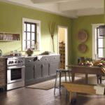 кухня в фисташковом цвете 1 (3)