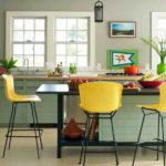 кухня в фисташковом цвете 1 (4)