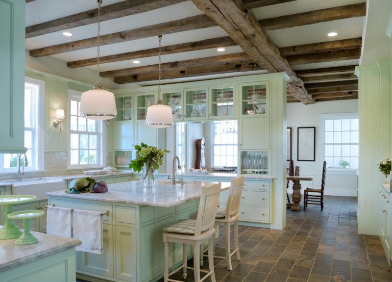 кухня в фисташковом цвете 1 (43)