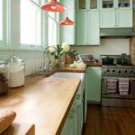 кухня в фисташковом цвете 1 (8)