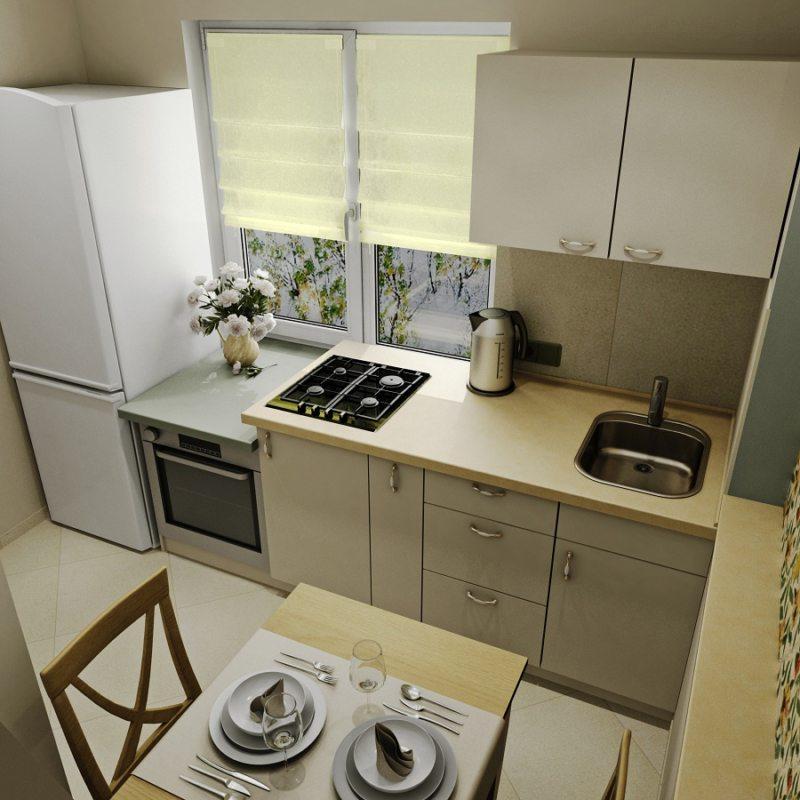 кухня в хрущевке (10)