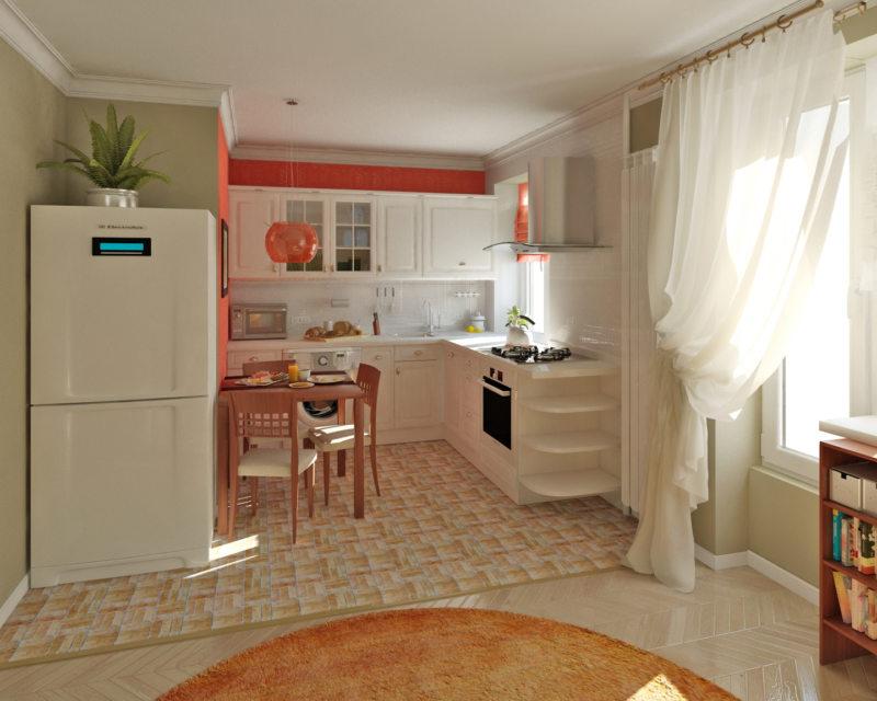 кухня в хрущевке (4)