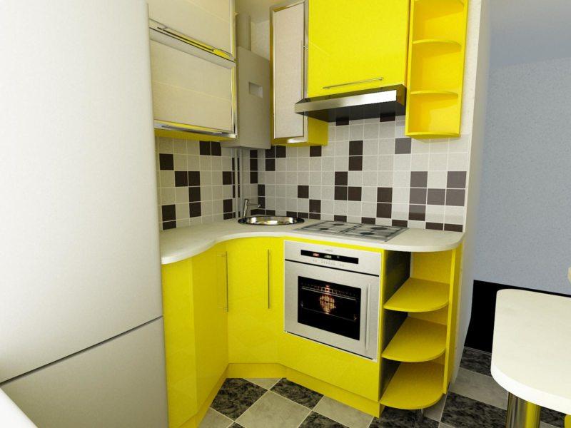 кухня в хрущевке (7)