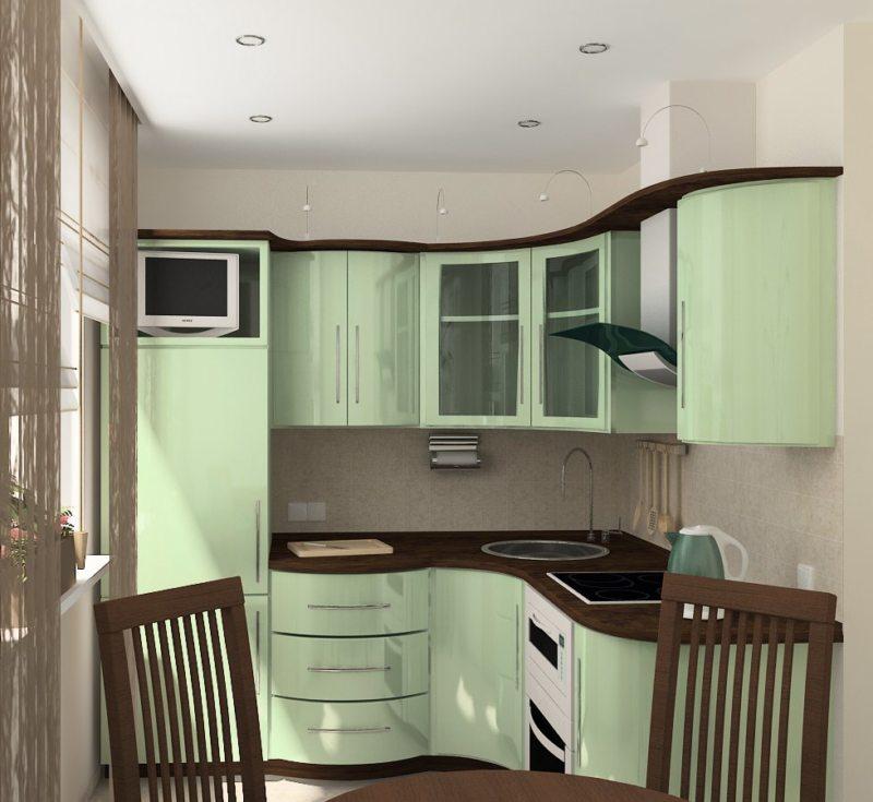 кухня в хрущевке (8)