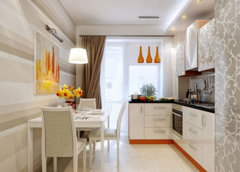 Фото дизайна кухни 11 м2