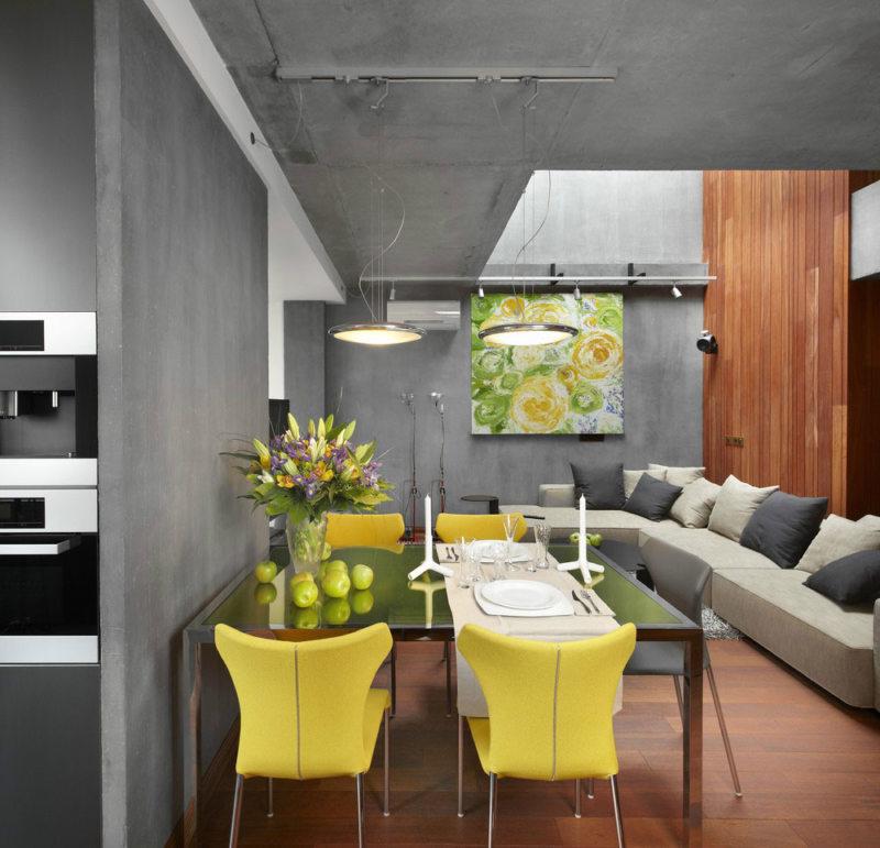 кухня в стиле конструктивизм (15)