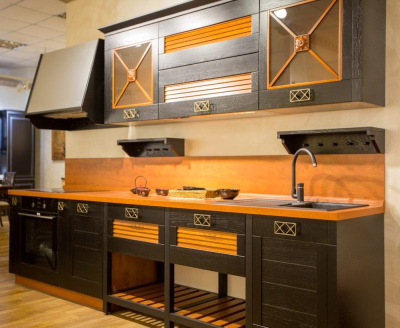 кухня в стиле конструктивизм (28)