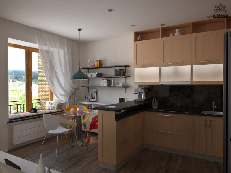 кухня в стиле конструктивизм (29)