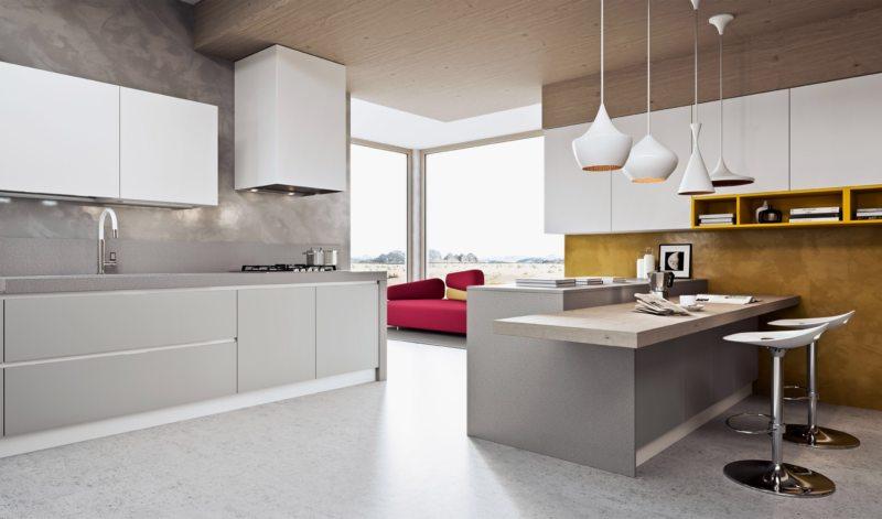 кухня в стиле конструктивизм (37)
