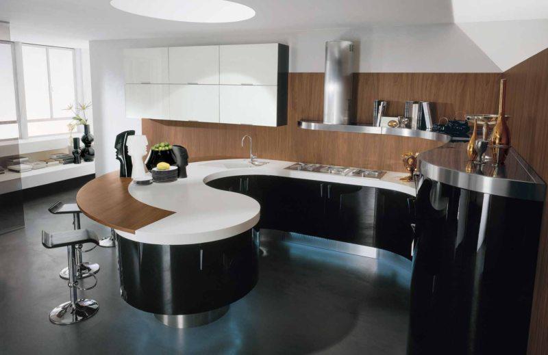 кухня в стиле конструктивизм (45)