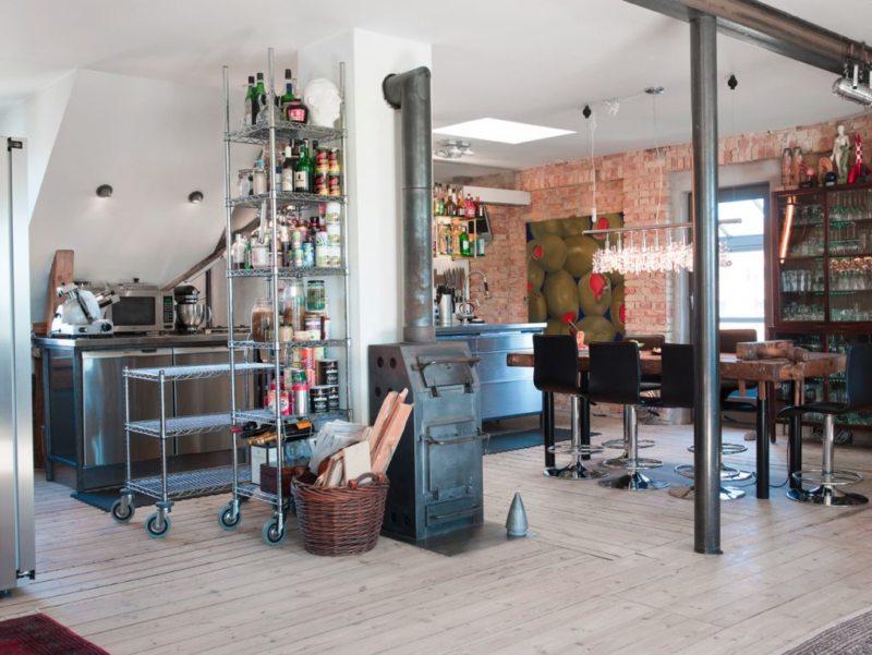 кухня в стиле конструктивизм (47)