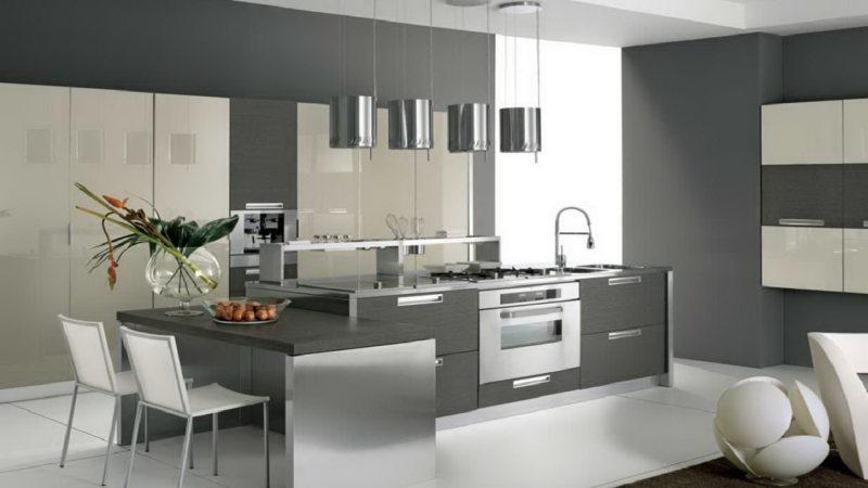кухня в стиле конструктивизм (50)