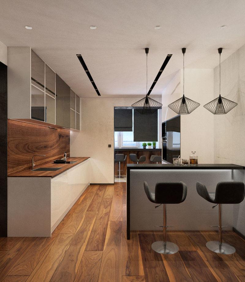 кухня в стиле конструктивизм (56)