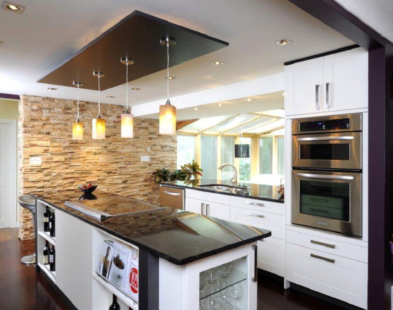 кухня в стиле конструктивизм (57)