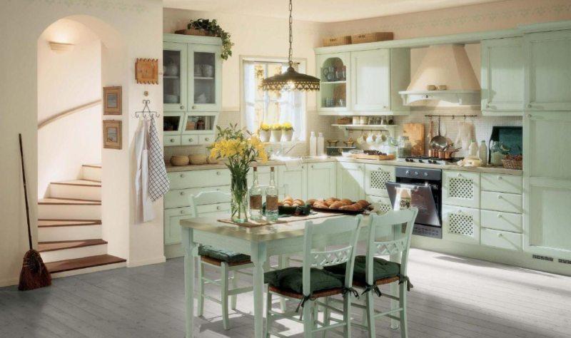 кухня в стиле прованс 95 фото лучших дизайнерских решений