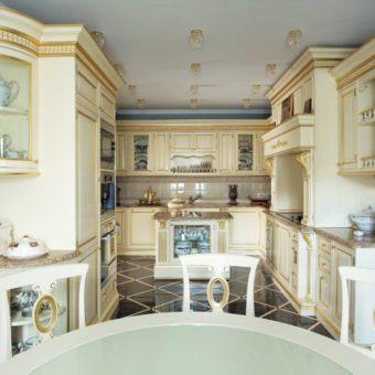 Кухня в стиле рококо — изумительный и стильный дизайн со вкусом! 75 фото идей.