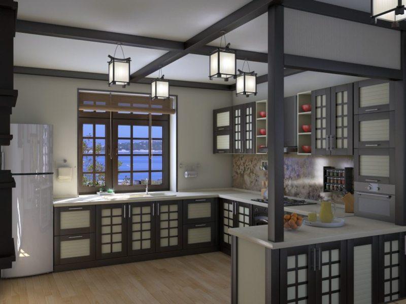 кухня в японском стиле 1 (25)