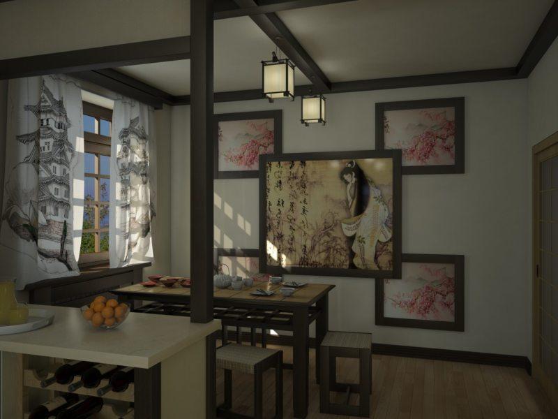 кухня в японском стиле 1 (29)