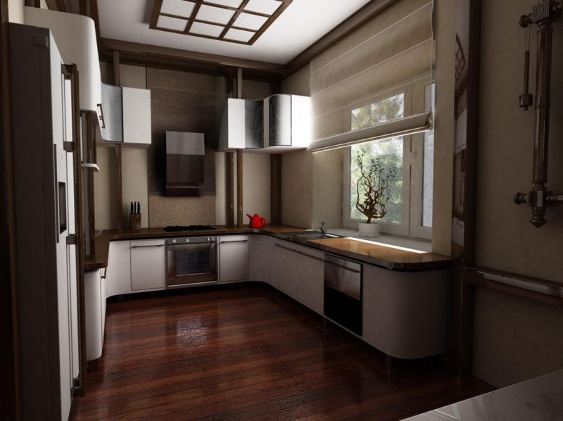 кухня в японском стиле 1 (31)