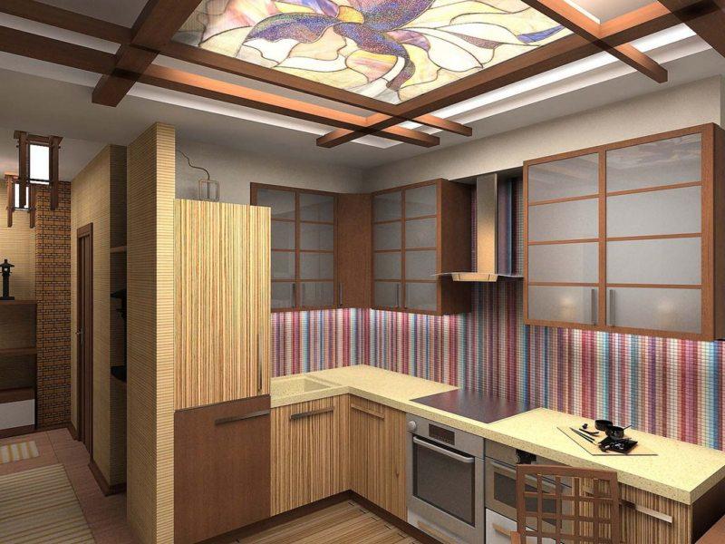 кухня в японском стиле 1 (38)