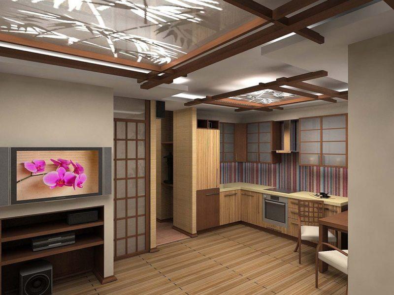 кухня в японском стиле 1 (45)