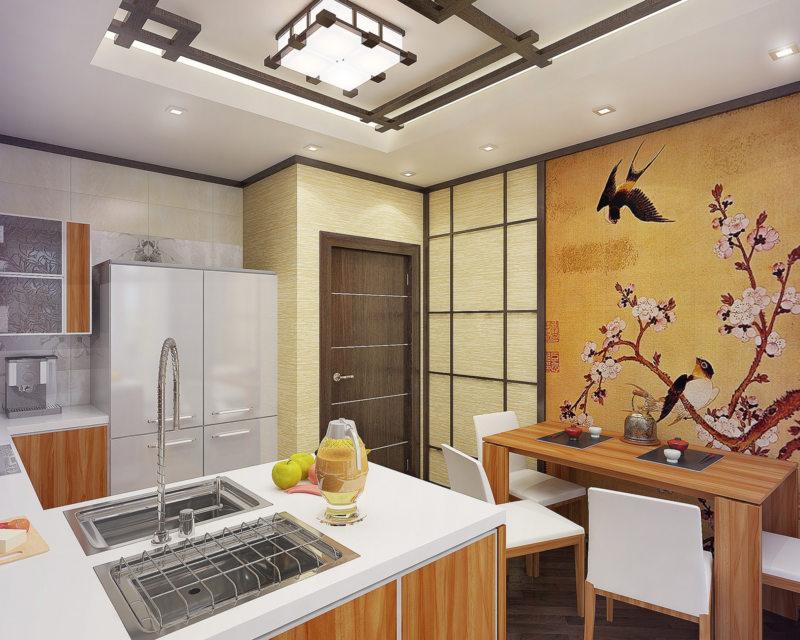 кухня в японском стиле 1 (46)