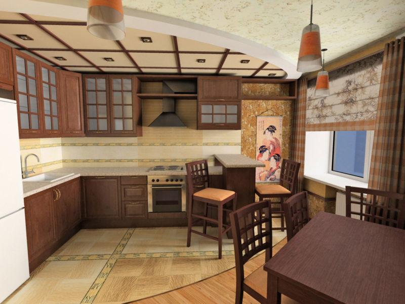 кухня в японском стиле 1 (50)