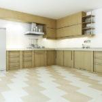 пол на кухне (26)