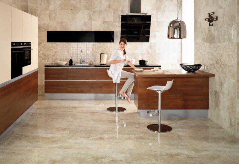 пол на кухне (35)