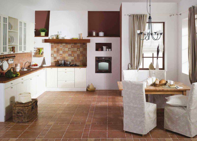 пол на кухне (37)