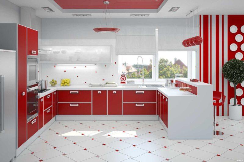 пол на кухне (43)