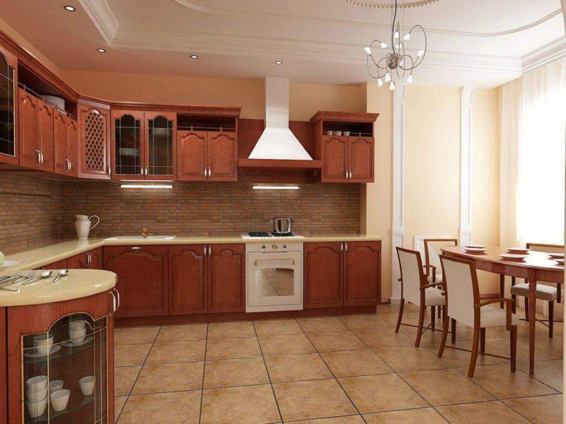 пол на кухне (48)