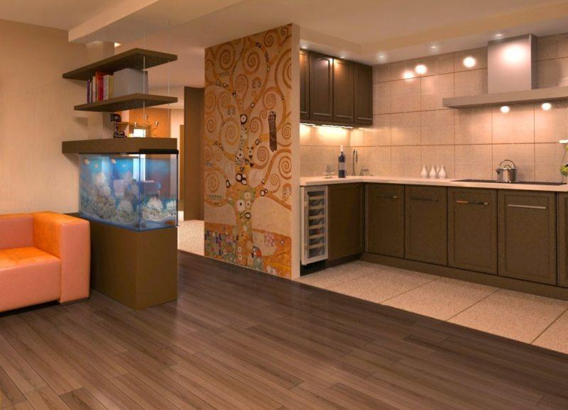 пол на кухне (53)