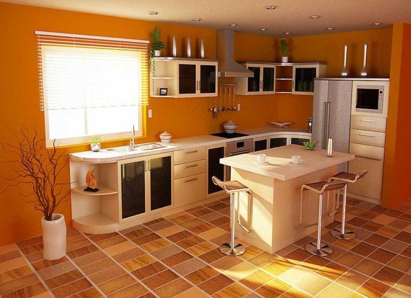пол на кухне (55)