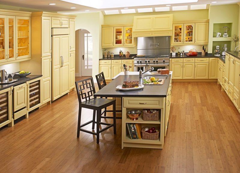 пол на кухне (56)