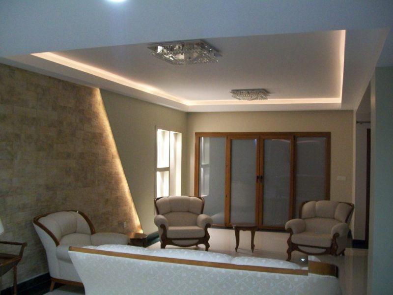 потолок из гипсокартона (33)