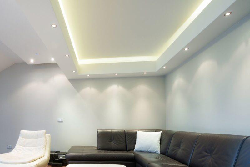 потолок из гипсокартона (46)
