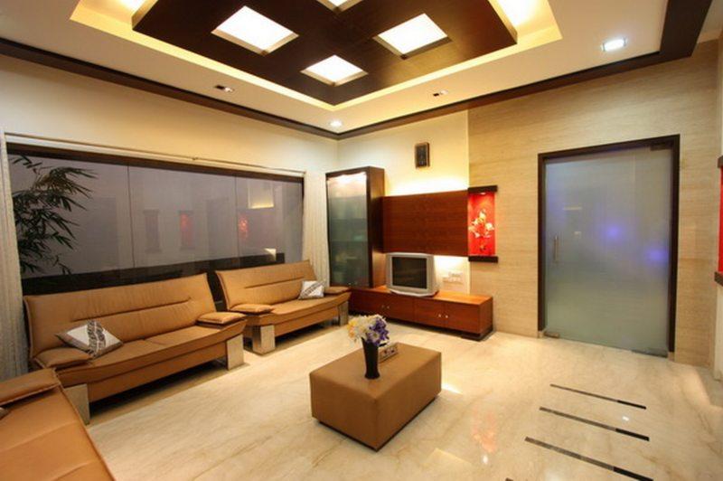 потолок из гипсокартона (7)