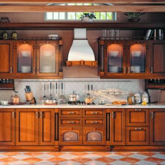 Прямая кухня — нестандартные варианты дизайна (75 фото идей)
