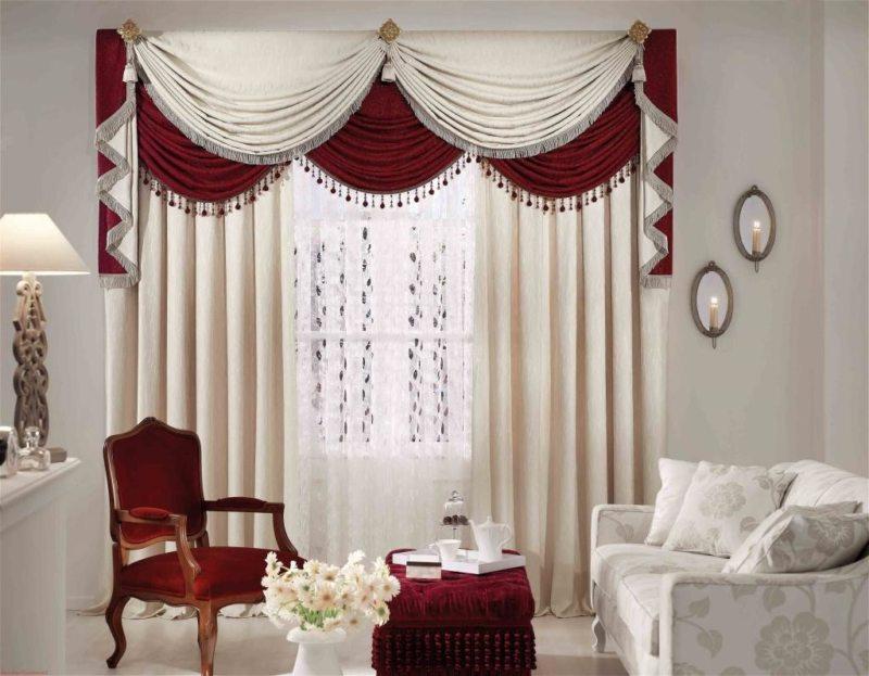 шторы в гостинной (16)